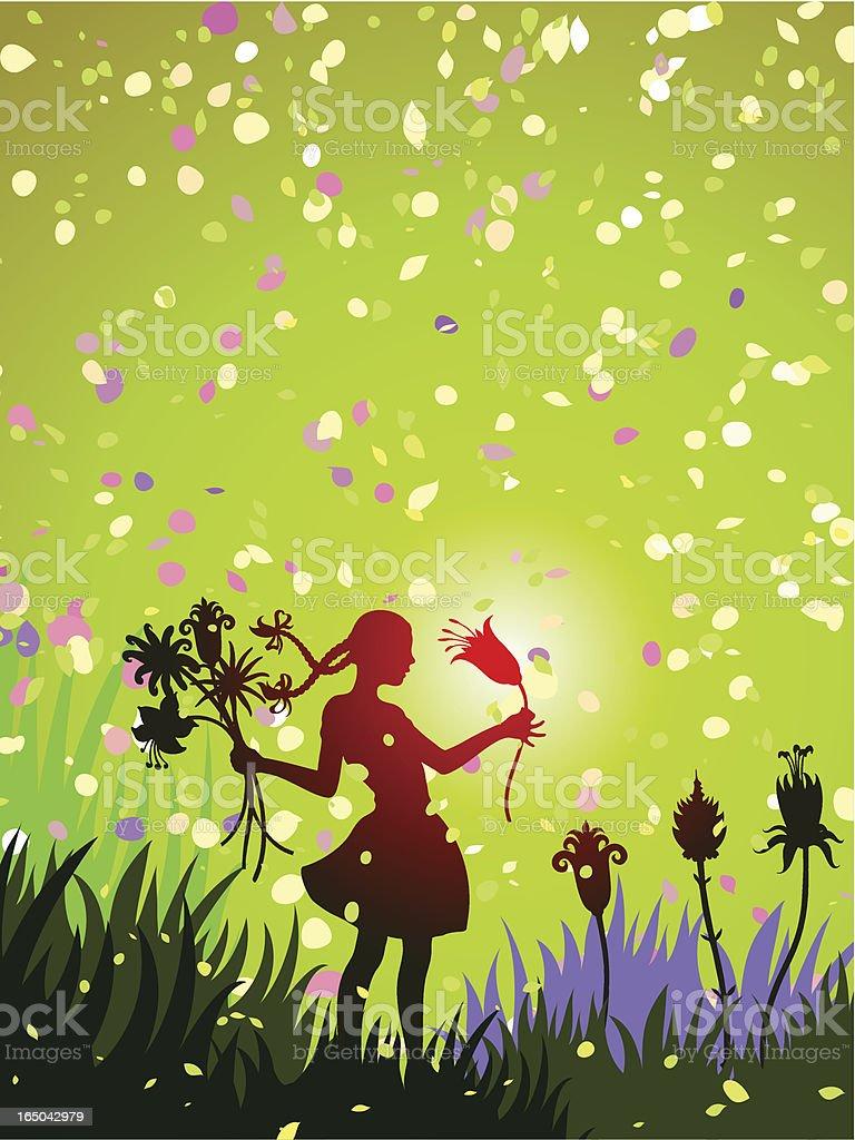 Die magic Blume – Vektorgrafik