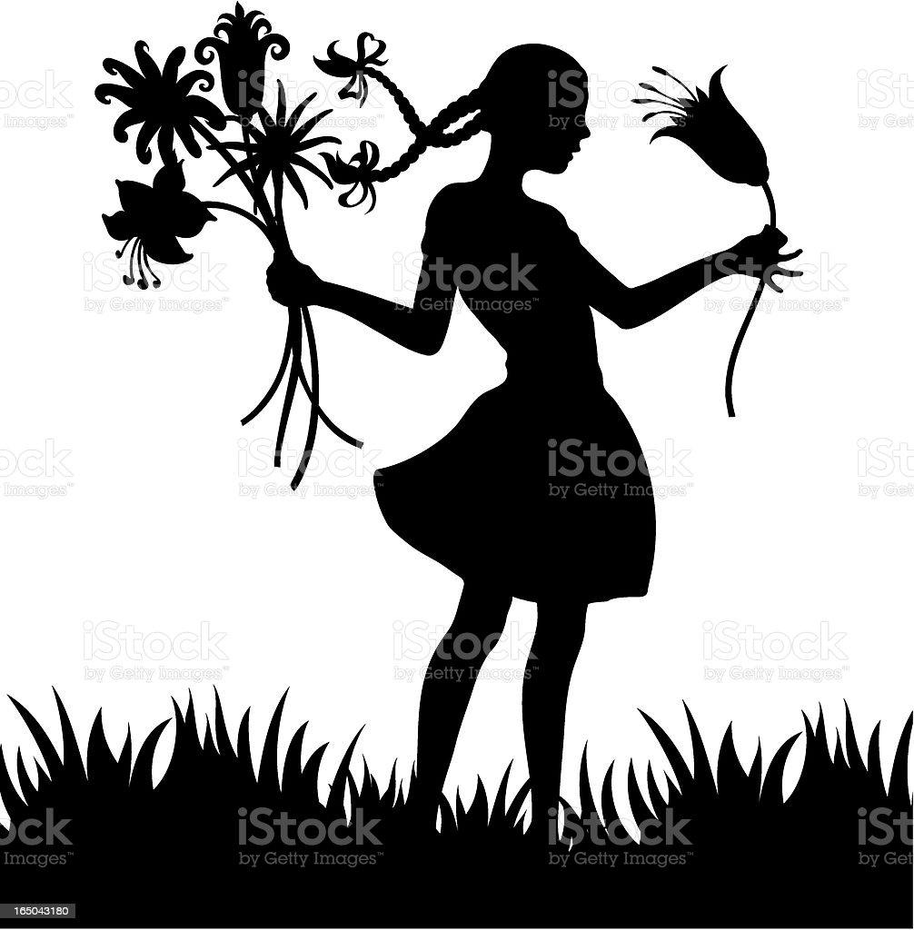 Die Magie von Blumen – Vektorgrafik