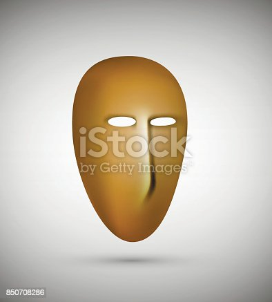 istock the mask, empty face no feelings, no emotions inside, 850708286