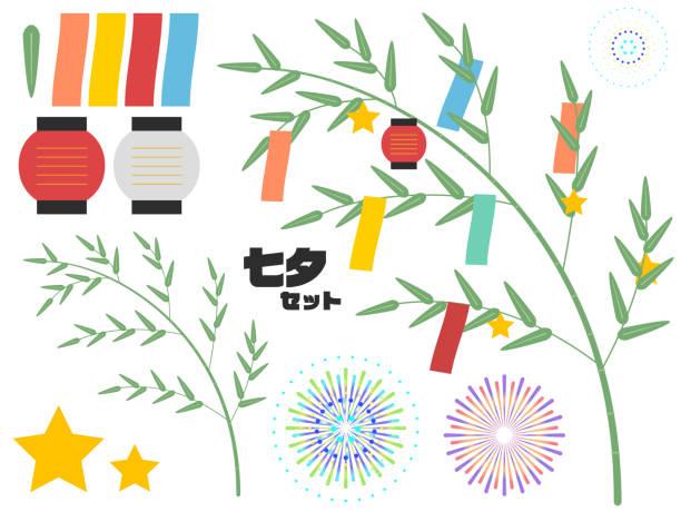 「夏まつり」の意味 - 七夕点のイラスト素材/クリップアート素材/マンガ素材/アイコン素材