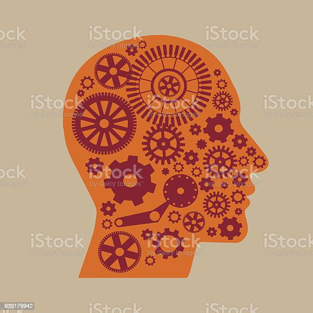 The mechanism in the head on a light background vector id639179942?b=1&k=6&m=639179942&s=612x612&h=d hcwdpsex8swvo8wdgthswsta1a8vcmrw881ap5rtc=