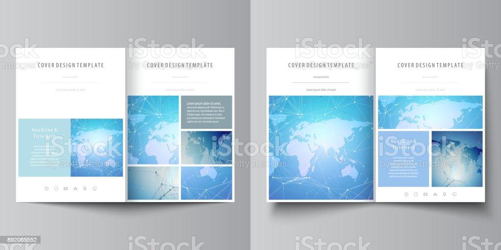 Die Minimalistische Vektorgrafik Editierbare Layouts Von Zwei Din