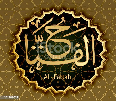 The Names Of Allah Al-Fattah Opening (Clarifying).