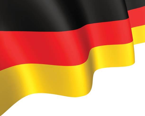 flagge von deutschland - kanzlerin stock-grafiken, -clipart, -cartoons und -symbole