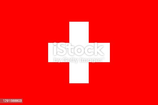 istock The national flag of the European country Switzerland. 1291588803