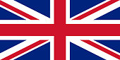 The official flag of great Britain