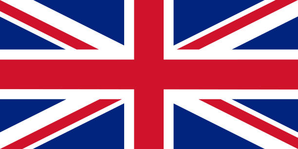 the official flag of great britain - union jack flag stock illustrations, clip art, cartoons, & icons