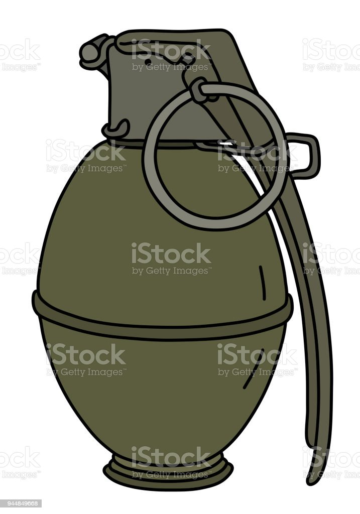 the old attack hand grenade stock vector art more images of rh istockphoto com French Hand Grenades French Hand Grenades