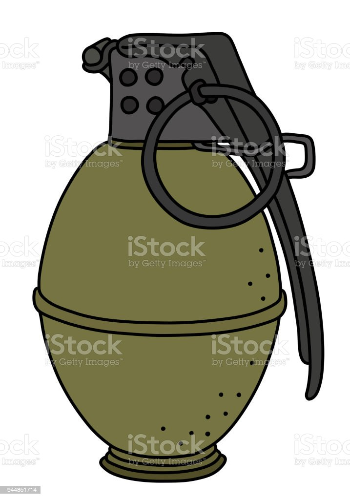 la grenade main attaque vieux cliparts vectoriels et plus d rh istockphoto com  grenade vector