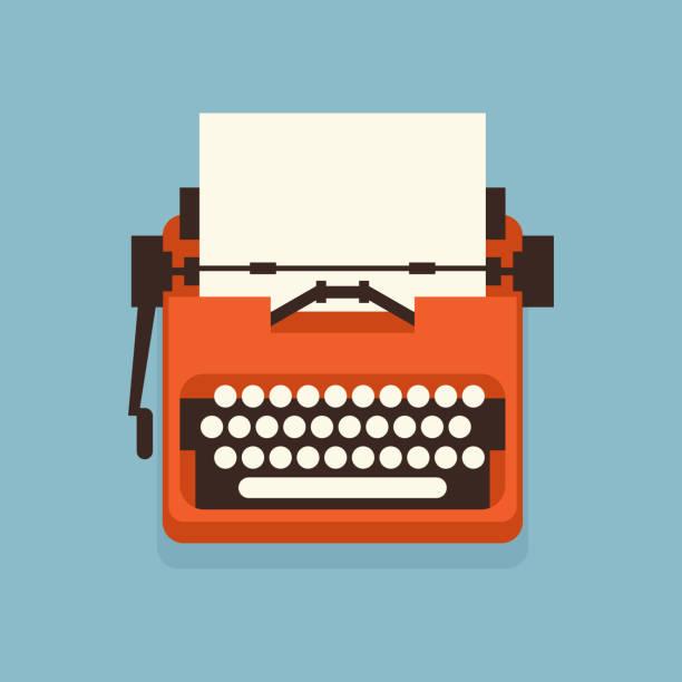 bildbanksillustrationer, clip art samt tecknat material och ikoner med den gamla stil vintage skriv maskin. - ancient white background