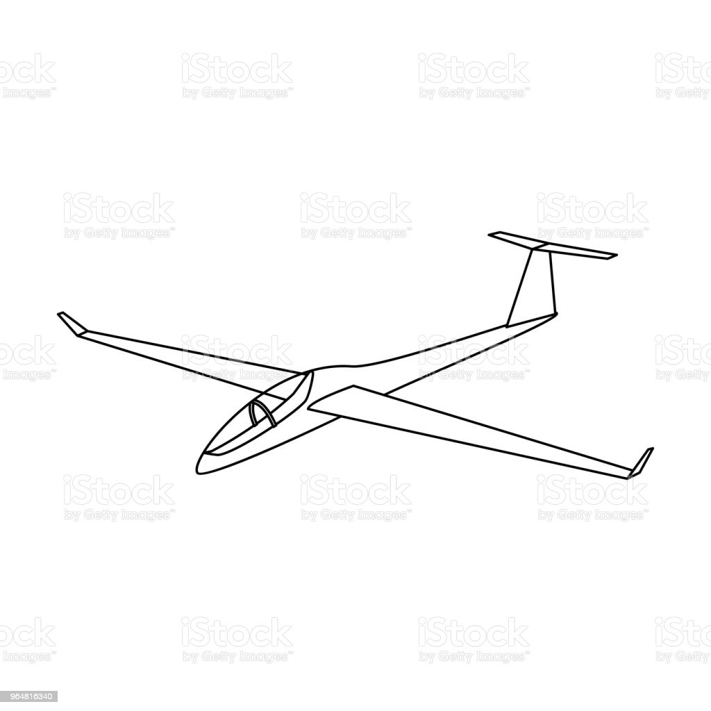 The orange fighter. High speed airplane for one person.Transport single icon in outline style vector symbol stock web illustration. royalty-free the orange fighter high speed airplane for one persontransport single icon in outline style vector symbol stock web illustration stock vector art & more images of air force