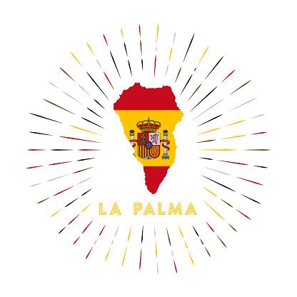 The Palma sunburst badge.