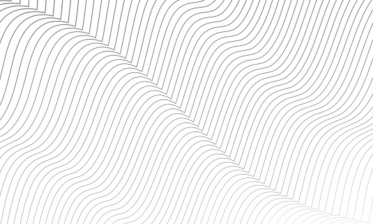 the pattern of the gray lines.