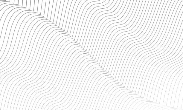 stockillustraties, clipart, cartoons en iconen met het patroon van de grijze lijnen. - golvend haar