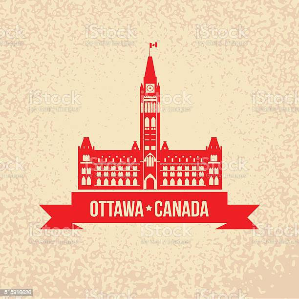 The peace tower the symbol of ottawa canada vector id515916626?b=1&k=6&m=515916626&s=612x612&h=raloc32w2n dsoc2cozsc bji5eozuqvemvr7 bbnv8=