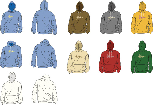The Perfect Hoodie (arms down)