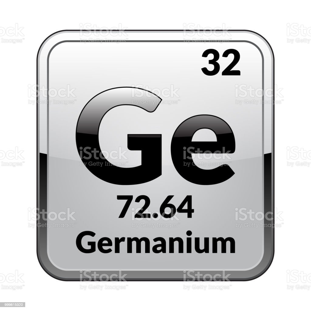 The Periodic Table Element Germaniumvector Stock Vector Art More