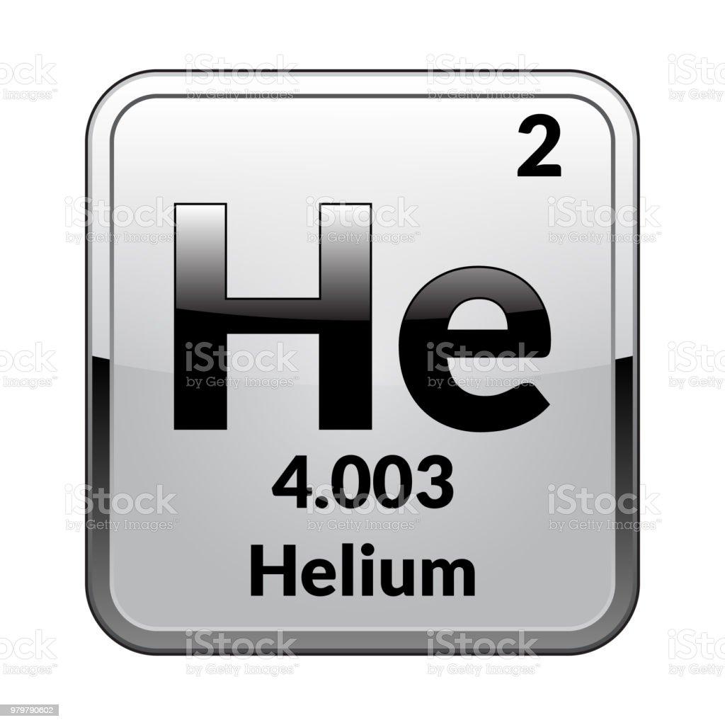 The periodic table element heliumvector stock vector art more the periodic table element heliumctor royalty free the periodic table element heliumvector urtaz Images