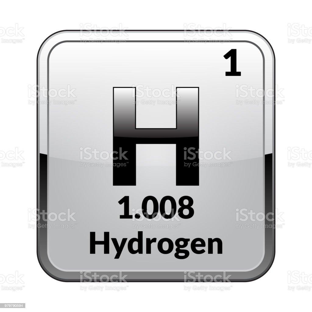 Ilustracin de el hidrgeno del elemento de tabla peridica vector y el hidrgeno del elemento de tabla peridica vector ilustracin de el hidrgeno del elemento urtaz Image collections