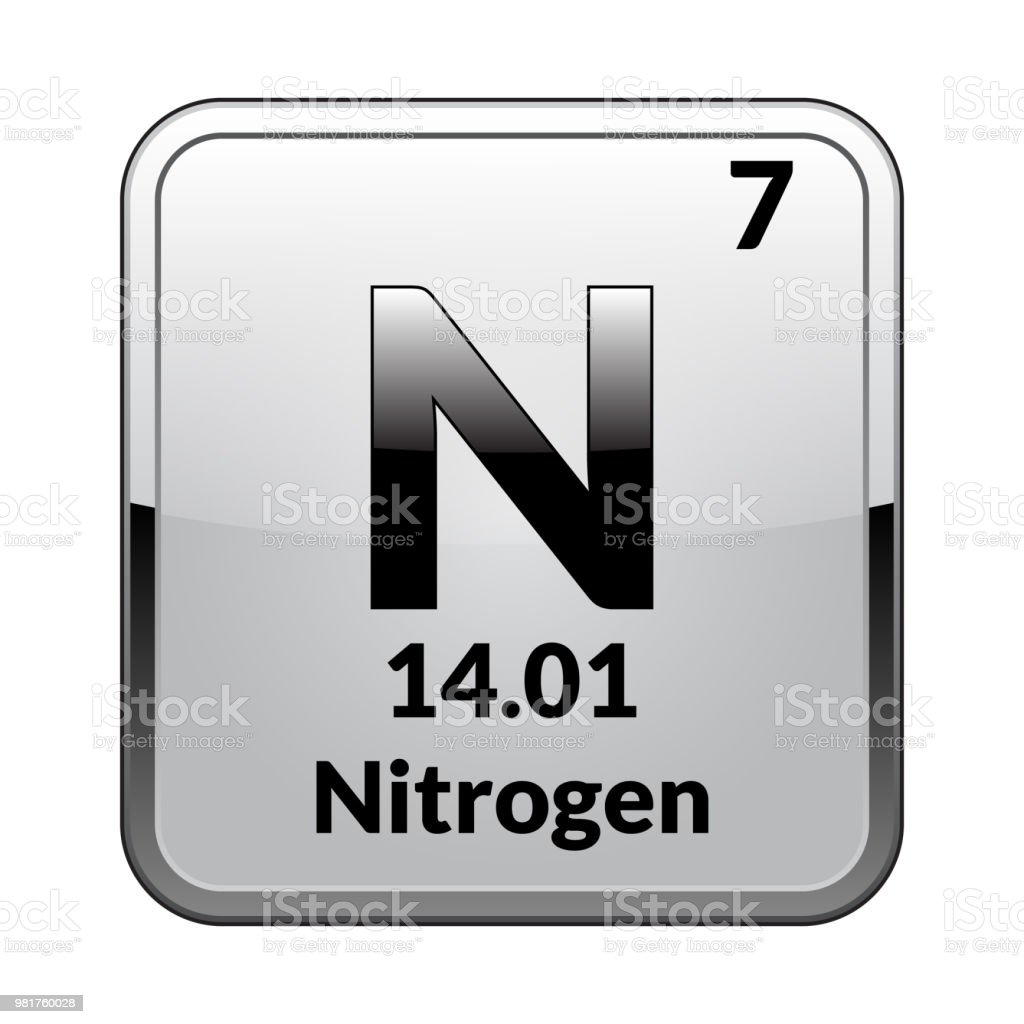 The periodic table element nitrogenvector stock vector art more the periodic table element nitrogenctor royalty free the periodic table element nitrogenvector urtaz Image collections
