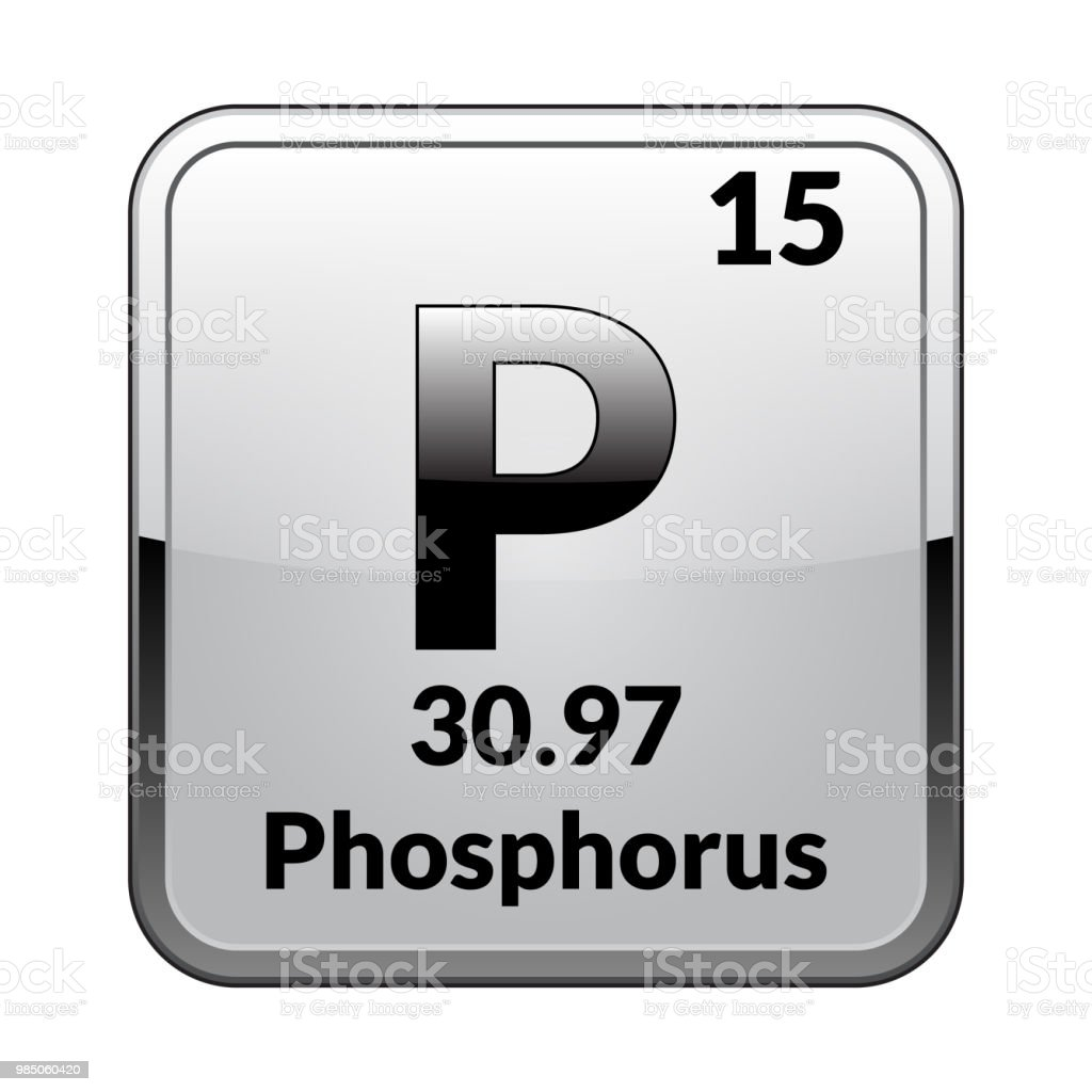 The Periodic Table Element Phosphorusvector Stock Vector Art More