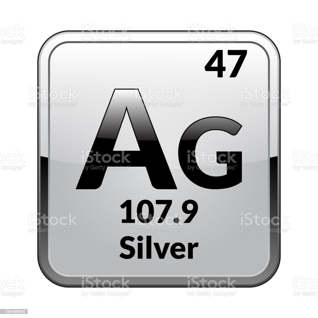 The periodic table element silvervector stock vector art more the periodic table element silverctor royalty free the periodic table element silvervector urtaz Images