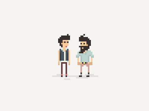 The Pixel Art Friends Conversation