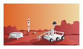 istock The planet Mars 1279300018