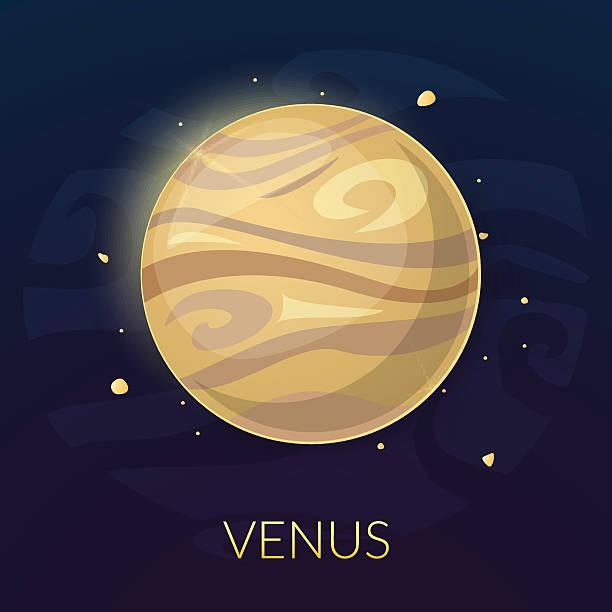 планеты венера, векторная иллюстрация - venus stock illustrations