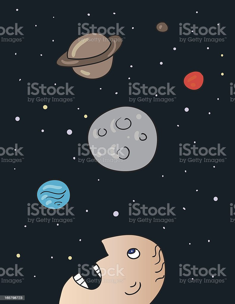 Les planètes - Illustration vectorielle