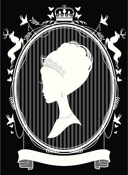 die princess - hochzeitsanstecker stock-grafiken, -clipart, -cartoons und -symbole