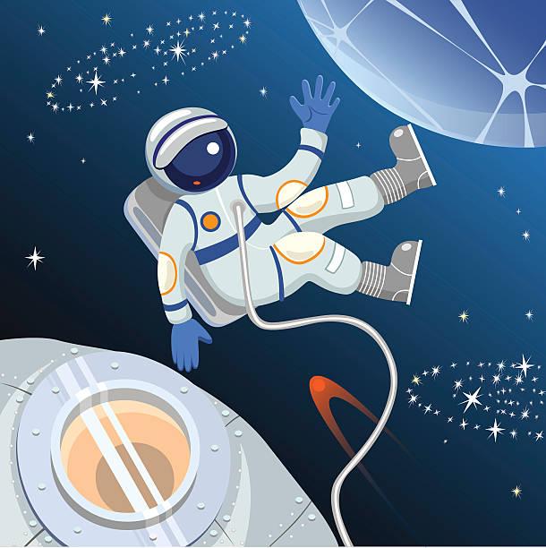 astronaut in space vector art - photo #41