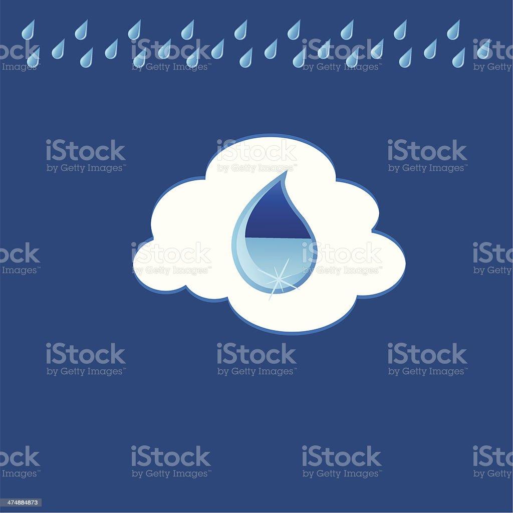 The rain royalty-free the rain stock vector art & more images of art