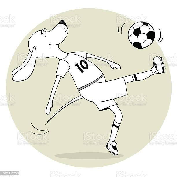 The ridiculous comical dog plays soccer the lovely toon returns vector id585093258?b=1&k=6&m=585093258&s=612x612&h=hm92qrjpbfgg 0vsk8d56ycf13k sji98ajqejgvtw0=