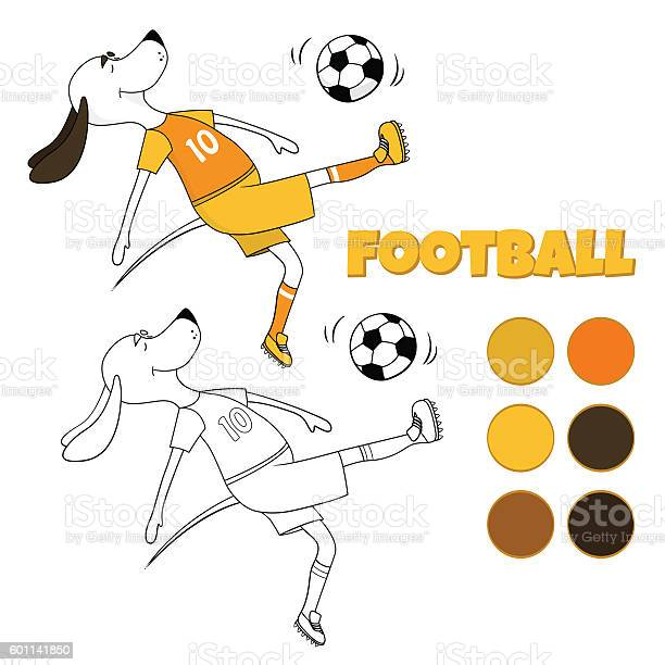 The ridiculous comical dog plays soccer the lovely toon returns vector id601141850?b=1&k=6&m=601141850&s=612x612&h=xre5z1avbacm7cbtza dkt0gaiixwj1vxyglr10ykvm=