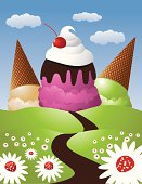 The Road to Ice Cream Mountain