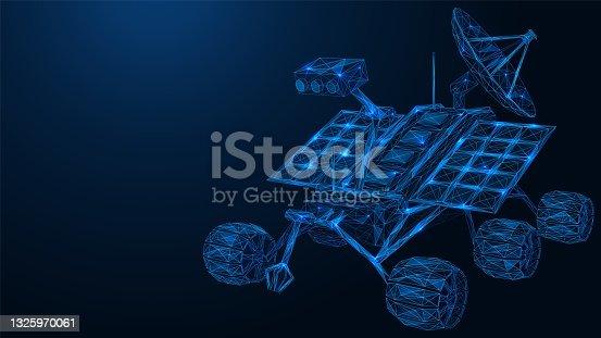 istock The robot mars rover. 1325970061