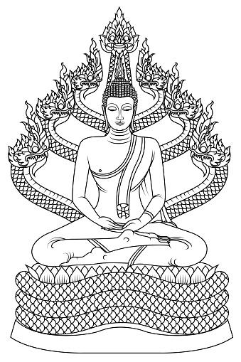 The Saturday Buddha image