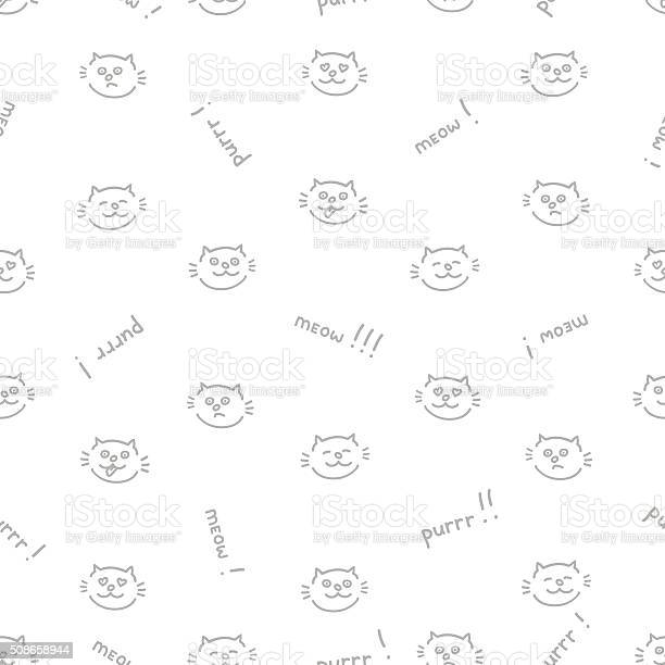 The seamless vector pattern with cats vector id508658944?b=1&k=6&m=508658944&s=612x612&h=chfvby nayb33ywuxby f hqyugg8tkgdfwlllumyj8=