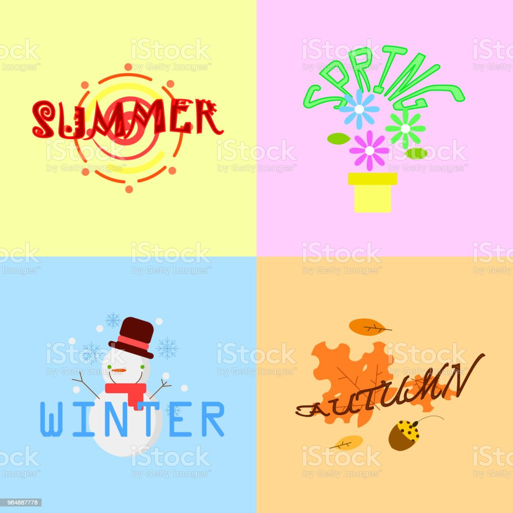 the season royalty-free the season stock illustration - download image now