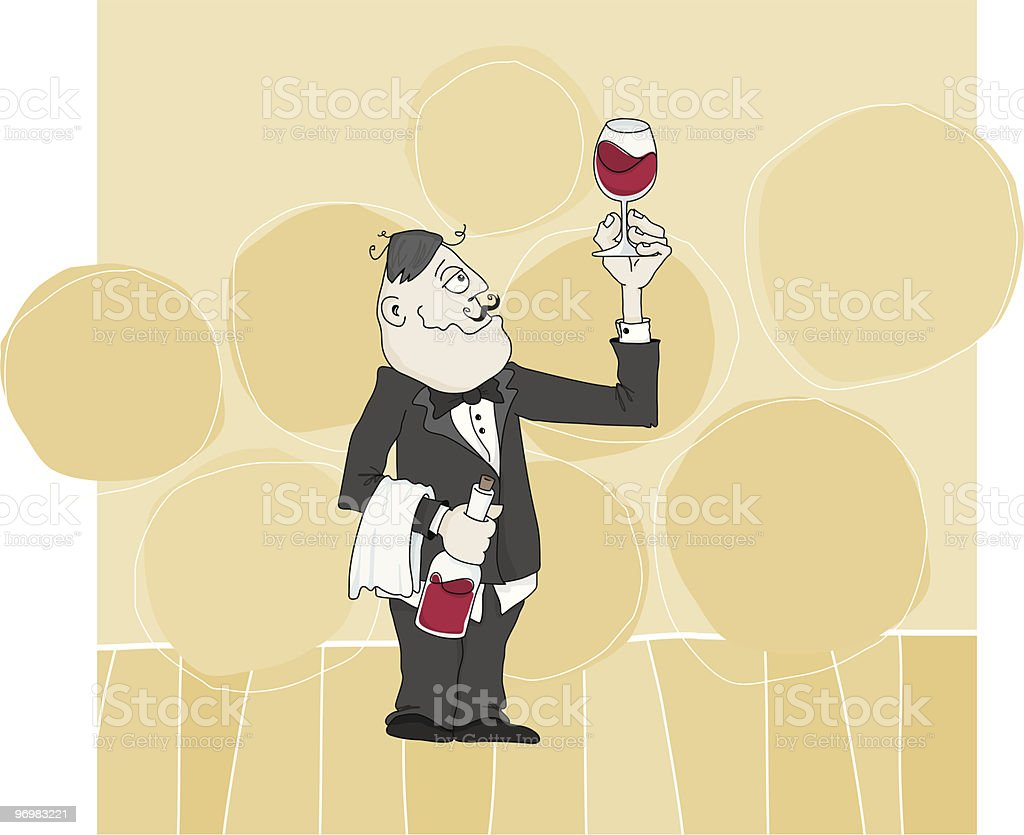 the Selection of Sommelier royalty-free the selection of sommelier stock vector art & more images of adult