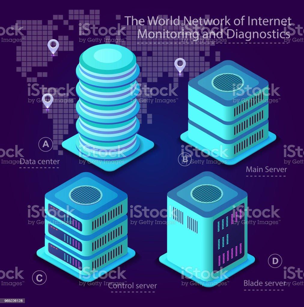 The server room data the server room data - stockowe grafiki wektorowe i więcej obrazów abstrakcja royalty-free