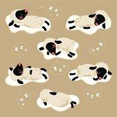 The Sheep Sleep on the Clouds.