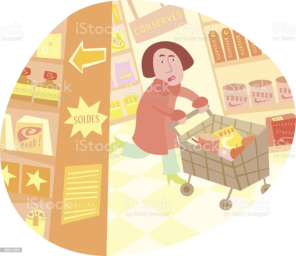 The shopping! royalty-free the shopping stock vector art & more images of adult