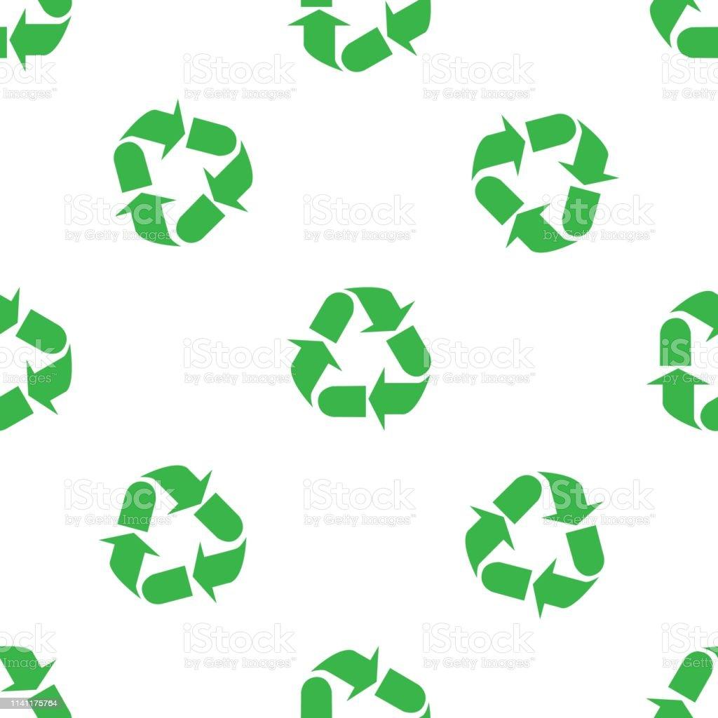 Le Papier Peint Est Il Recyclable le signe des trois flèches signifie le recyclage motif de