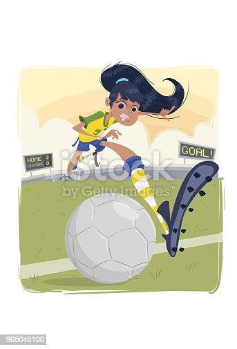 The Soccers Soccer - Stockowe grafiki wektorowe i więcej obrazów Aktywność sportowa 965045100