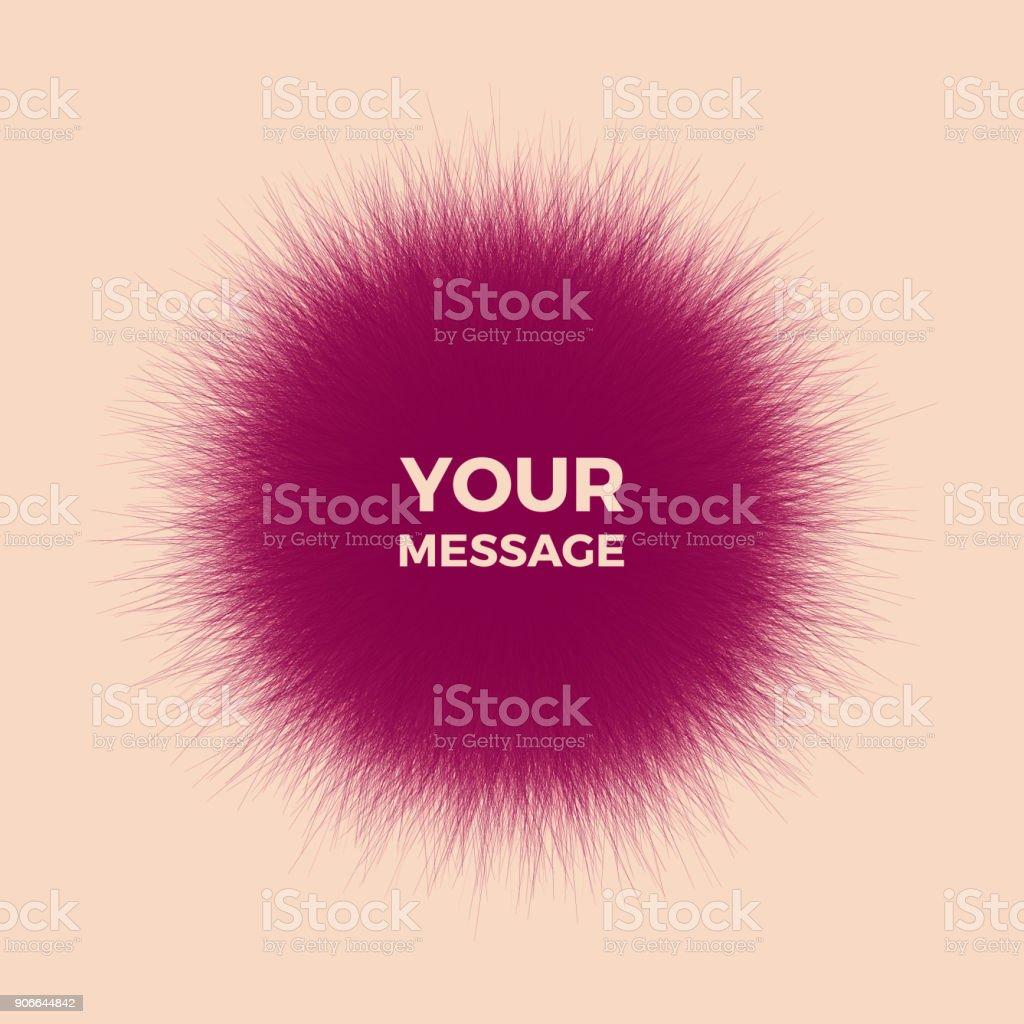 The sphere consisting of chaotic lines. Vector realistic fluffy element. royalty-free the sphere consisting of chaotic lines vector realistic fluffy element stock illustration - download image now
