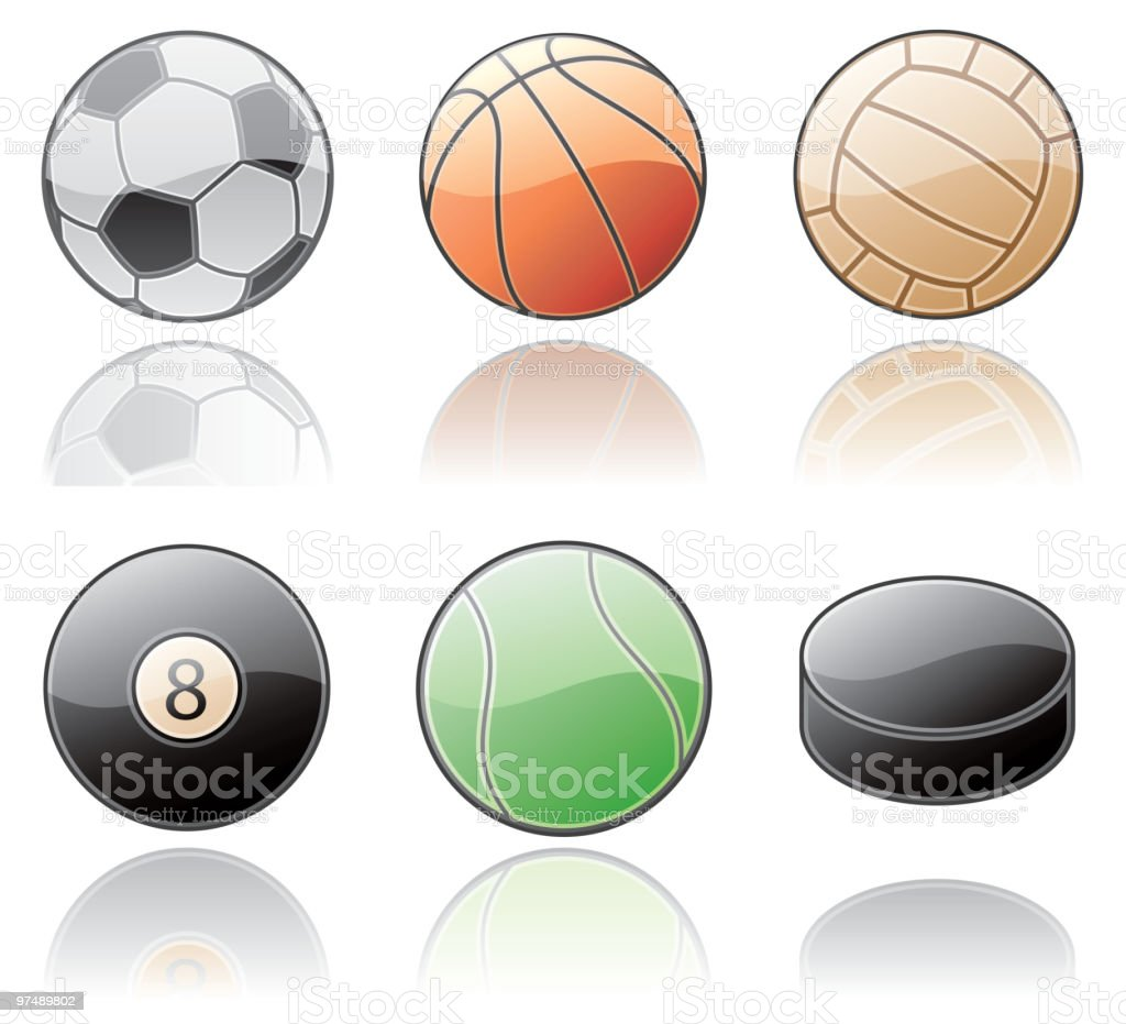 The Sport Balls. Design Elements royalty-free the sport balls design elements stock vector art & more images of american culture
