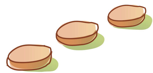 Stepping Stones Clip Art : Royalty free stepping stones clip art vector images