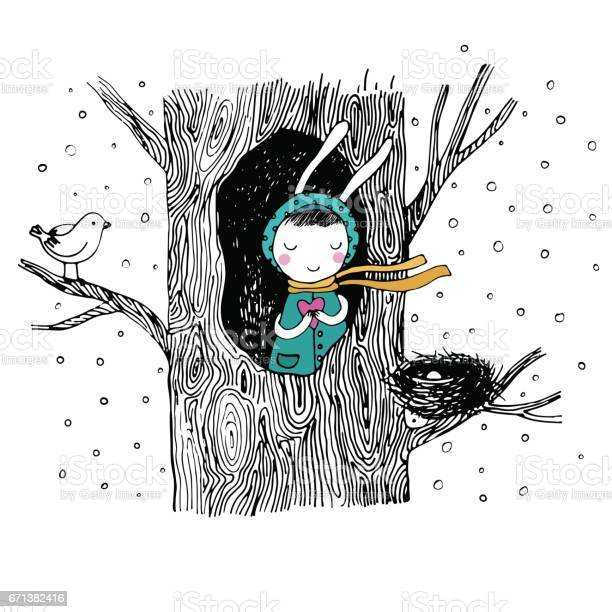 The story about a bunny tree and bird vector id671382416?b=1&k=6&m=671382416&s=612x612&h=voz  rzvikamjp1euie7 2wm5q6cr7fo6oam6xsxvmm=